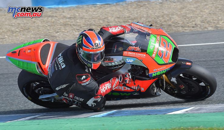 Espargarò and Lowes finalise testing the RS-GP machine at the year's end Jerez testing, with Lowes continuing to recover from his crash at Valencia