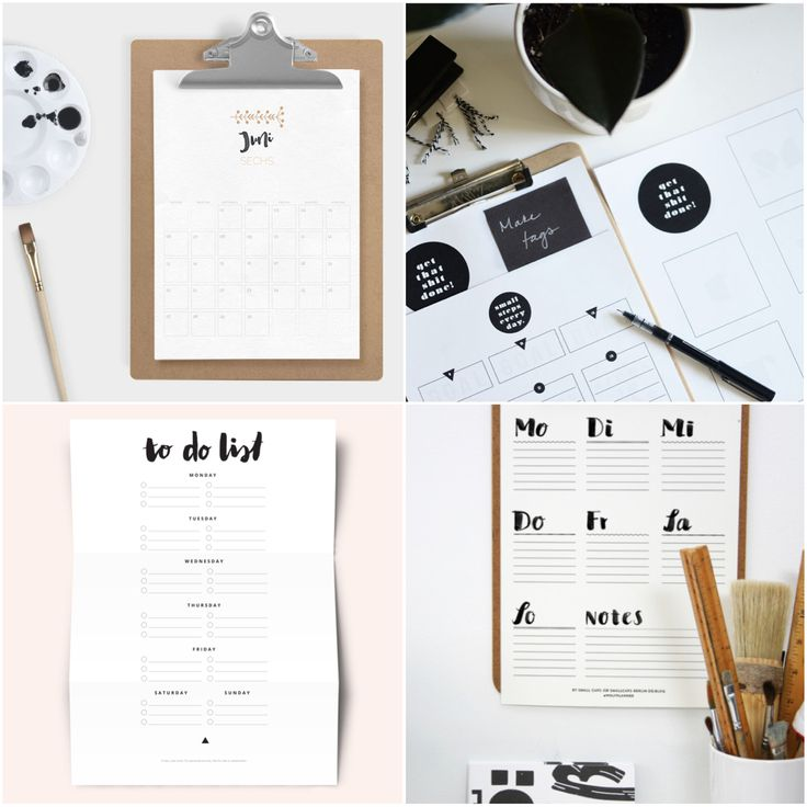 Inspiration // Organisieren + Planen.