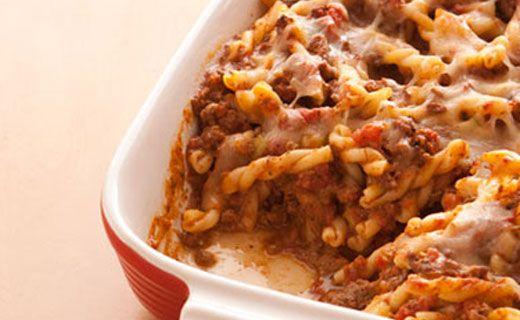 Epicure's Taco Meatloaf Pasta Casserole