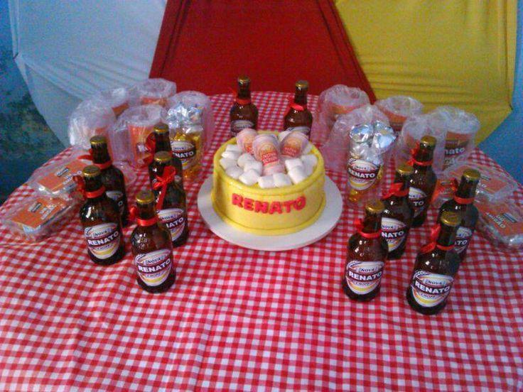 decoracao festa boteco personalizada:Festa // Personalizada // Lembrancinhas // Bebida // Chá de Bar