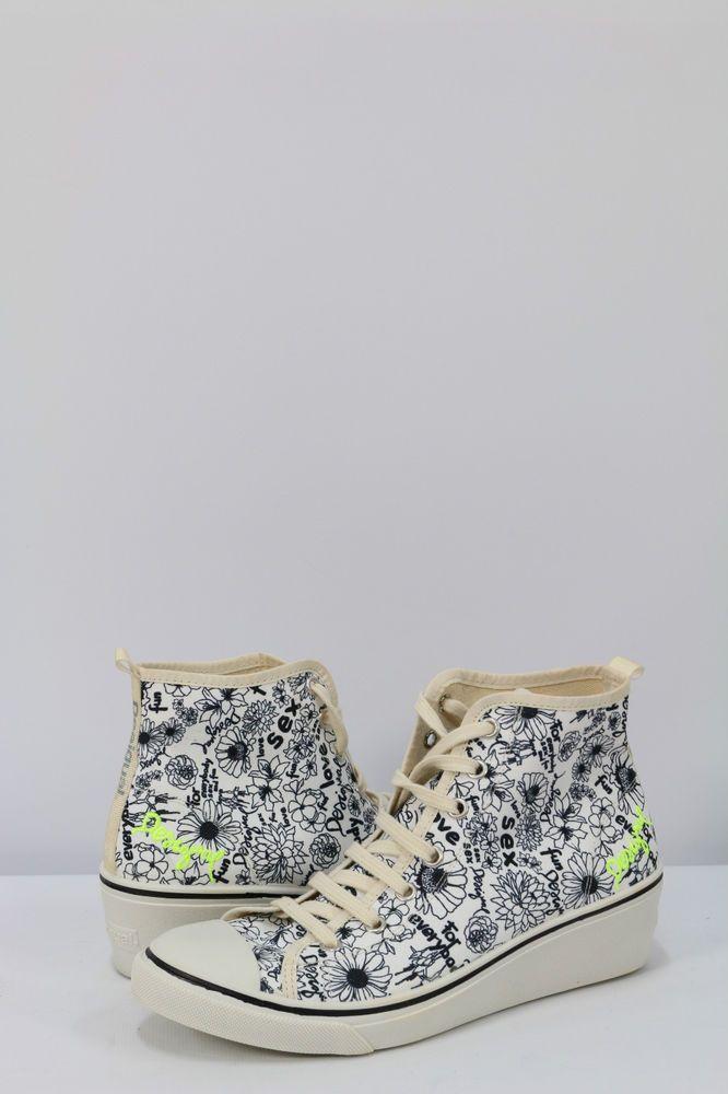 Desigual Women Sneakers Shoes Trainers Girls #desigual #sneakers @desigual #topsneakers #streetstyle