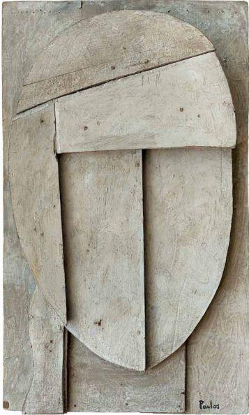 manuel pailós - construcción - 1960 - tabla 66 x 44