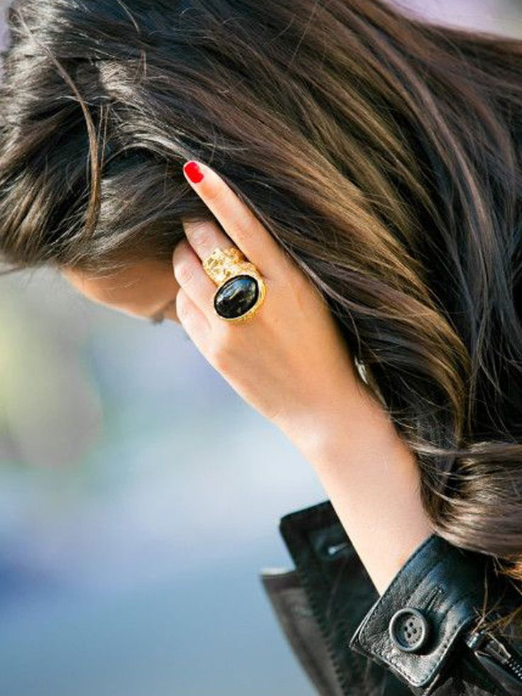 edgy cocktail ring..