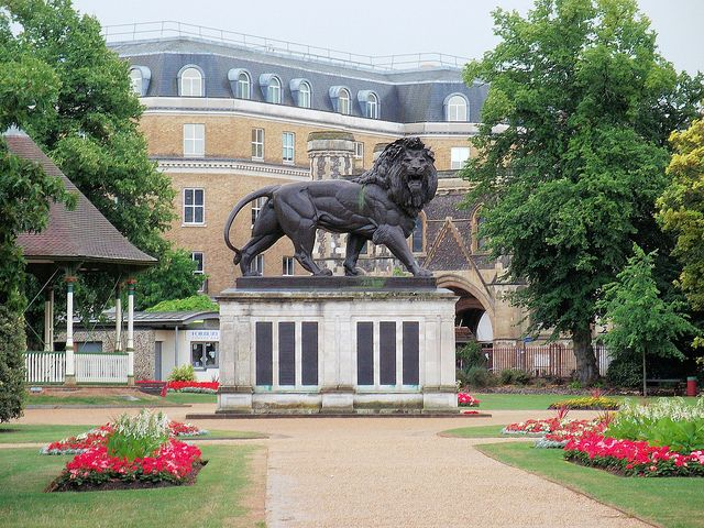 The Maiwand Lion, Forbury Gardens, Reading, Berkshire. Will never forget the Lion