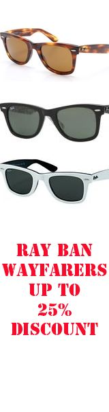 ray ban in any style that you want, can't miss! get it for 13!