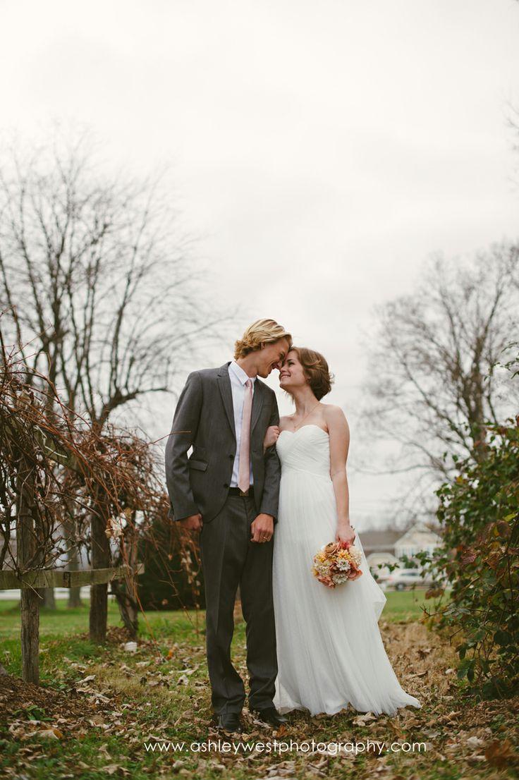 Fall Wedding by Ashley West Photography #wedding #weddingphotography #happy #love #photography #bride #groom #columbusohio #vsco