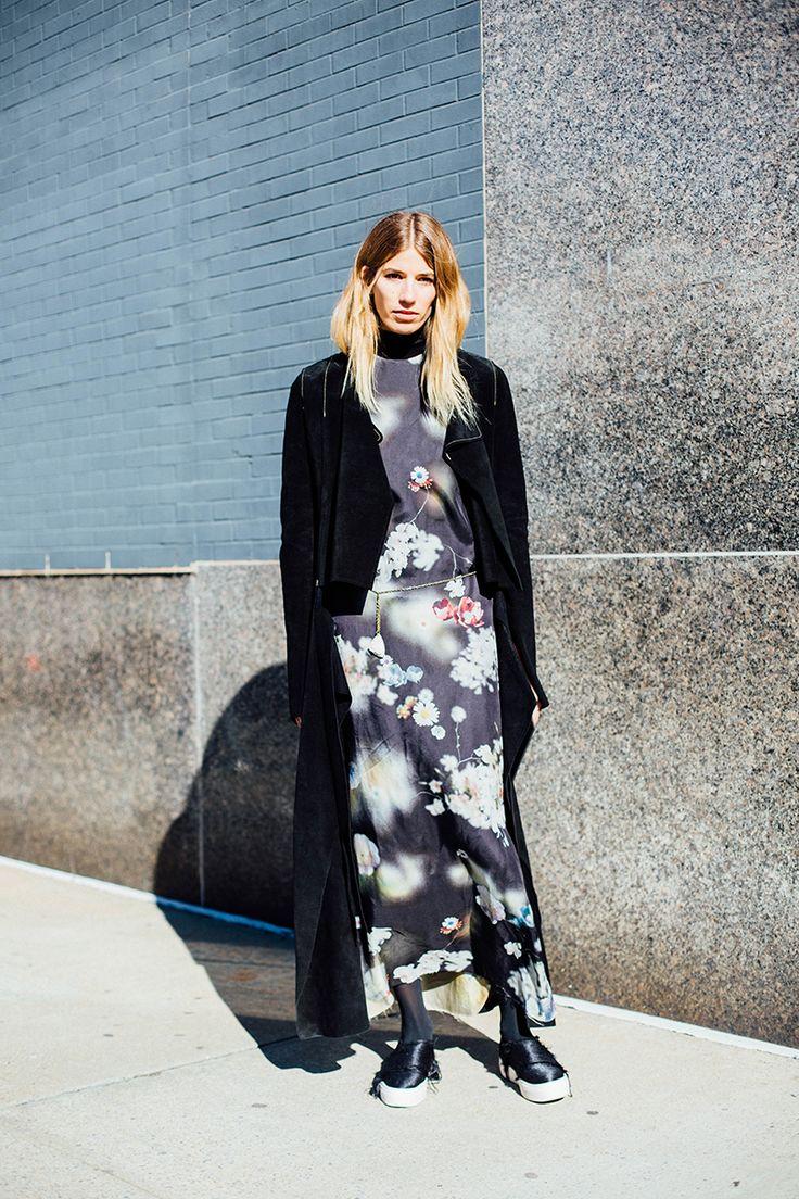 Street style New York Fashion Week febrero 2016 Proenza ...