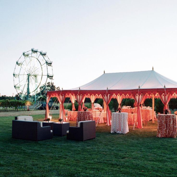 BEAR FLAG FARM | A farm with a Ferris wheel & fields of lavender?! No detail is left to chance when you book Bear Flag Farm. Magical carnival gatherings await. Click to book! The possibilities are endless. | Photo Credit: elizabethmessina