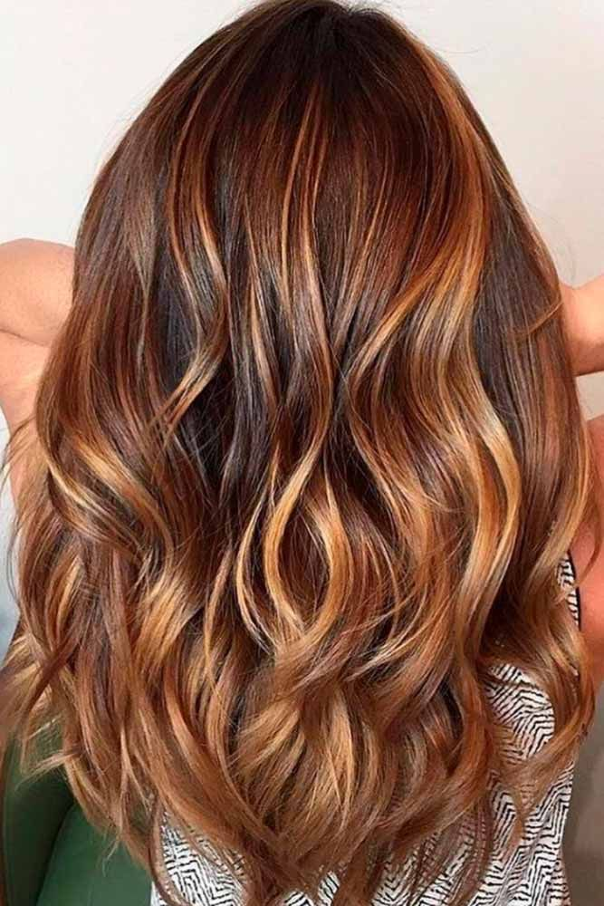 Pinterest High And Low Lights Hhair Dark Brown Hairs Of ...