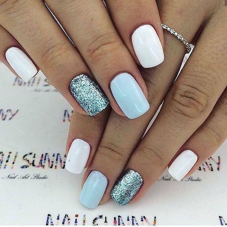 Love These Simple But Cute Nails Shellac Nail Designs Nails Shellac Nails