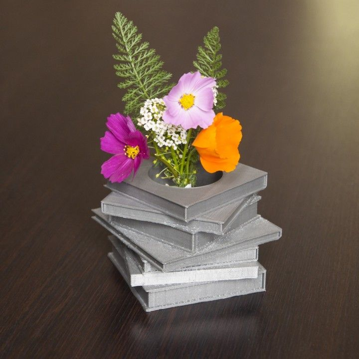 Books Stack Vase by Thibaud Juin