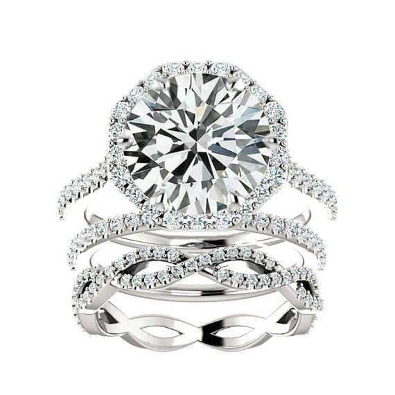 482 Best Moissanite Engagement Rings Images On Pinterest