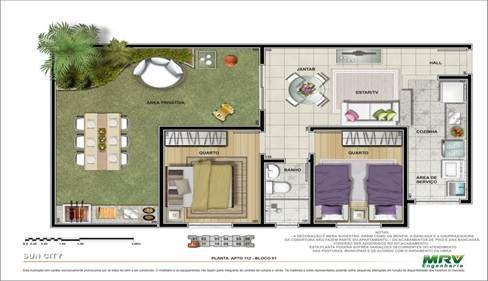 plantas de casas da caixa economica federal - 5 modelos de plantas de casas populares Tudo Construção