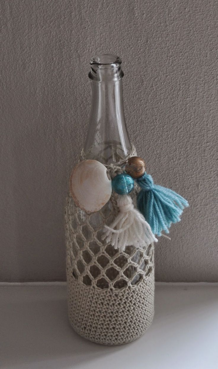 Crochet bottle