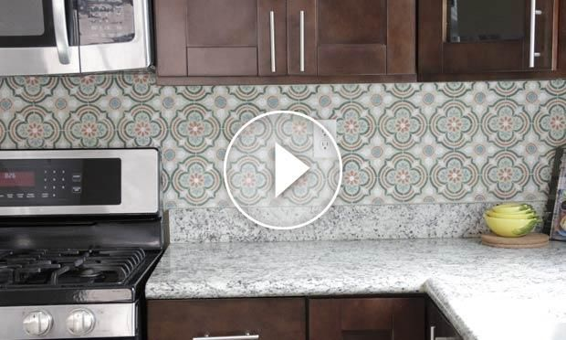 Stencil A Tile Kitchen Backsplash In 5 Easy Steps Kitchen