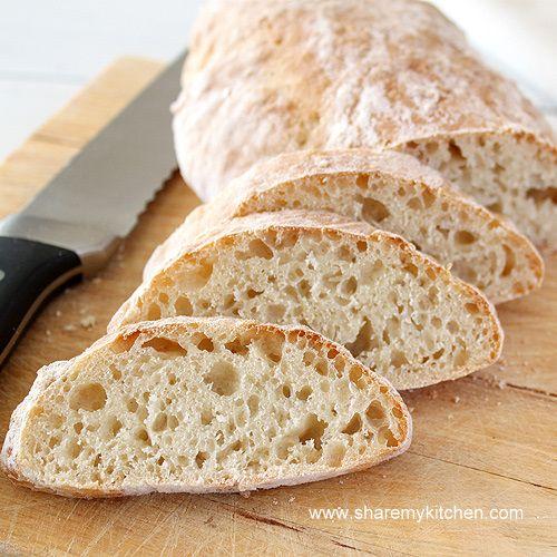 Quick Crusty BreadFood Ideas, Quick Crusty Breads Recipe, Easy Breads, Recipe Breads, Quick Breads, Breads Rolls Muffins, Yummy, Baking, Fresh Breads