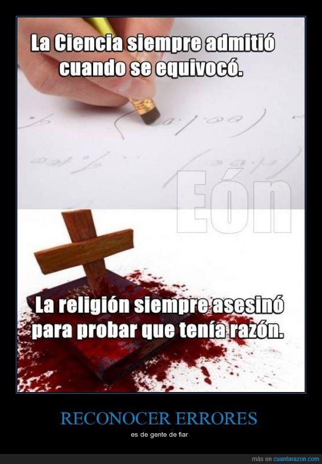 En un día como hoy, hay que recordar que la religión no debería ser excusa de nada - es de gente de fiar