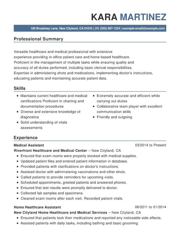Resume Examples Healthcare Resume Examples Functional Resume