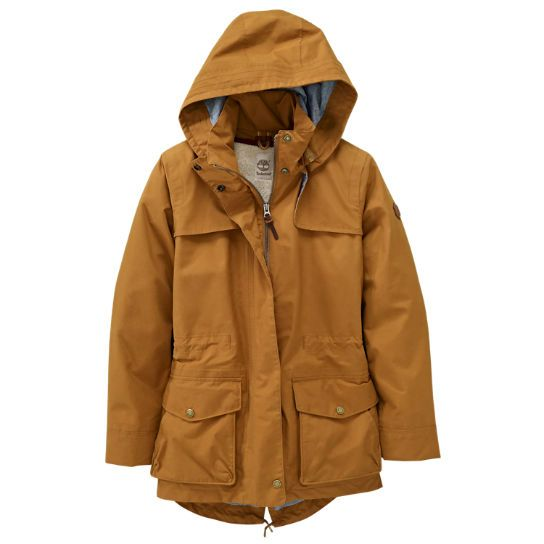 The Mt. Holly waterproof coats from Timberland: A stylish new take on the classic parka.