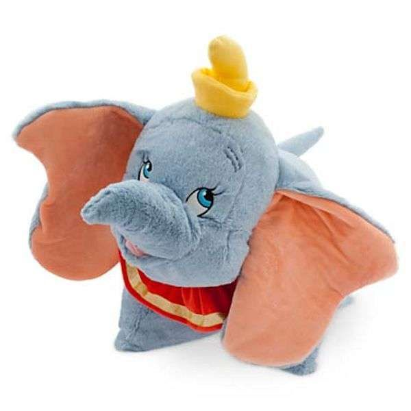 "#Disney Parks 20"" Dumbo The Flying Elephant Pillow Pet Pal Plushy New from $29.95"