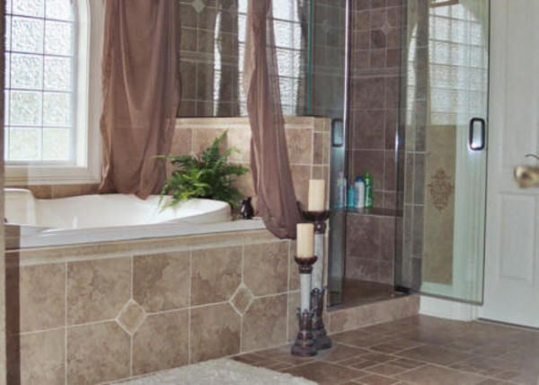 master bathroom ideas photo gallery shower floor tile shower wall tile and master bath - Bathroom Floor Tile Design Pictures