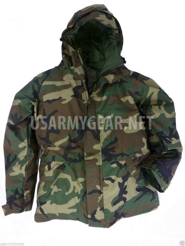 New US Army Cold Wet Weather Gen 1 Woodland Goretex Parka Jacket | US Army Gear