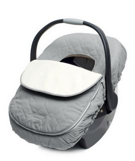 JJ Cole Bundle Me Car Seat Cover. Great for winter babies. No snow or freezing rain on their face. No need for layers and layers of clothes.
