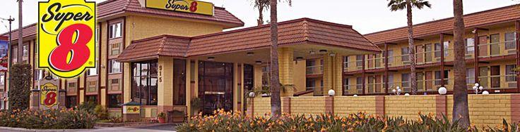 Super 8 Motel Disneyland Drive- cheap and close