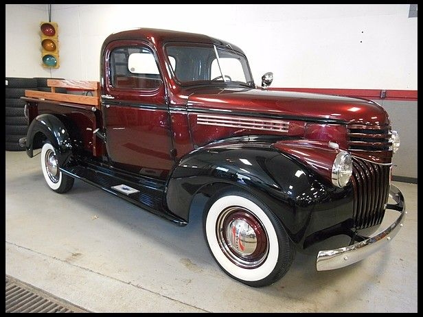 T279 1946 Chevrolet  Pickup 216 CI, 3-Speed Photo 1