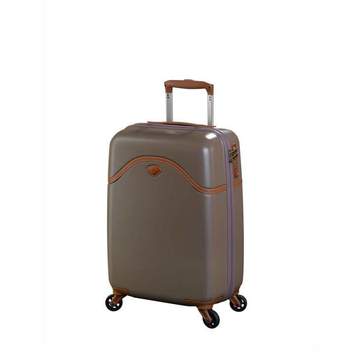 Valise rigide Uppsala PC 4 roues 66 cm Marron | Rayon d'or bagages
