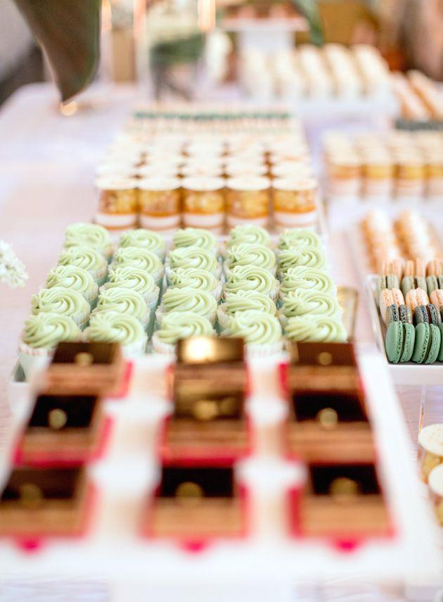 Design & Pastries: Bottega Louie | Photography: Katie Beverley | Floral Design: Rebelle Fleurs Event Design | Venue: Vibiana | Linen: LUXE Linen | Rentals: Revelry Event Designers | Lighting: High Voltage Lighting