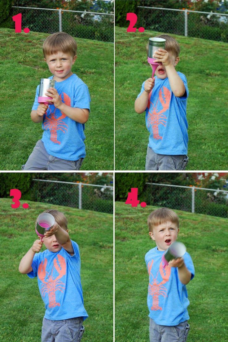 Unser 3-jähriger Sohn ist ein Waffennarr! Kleiderbügel, Kochlöffel, Seile, Besen... alles wird zur Waffe umfunktioniert. Mit lautem Gebrü...