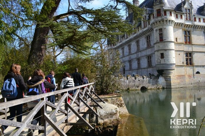 Triolet High School in France on a Kepri student expedition in March 2012...