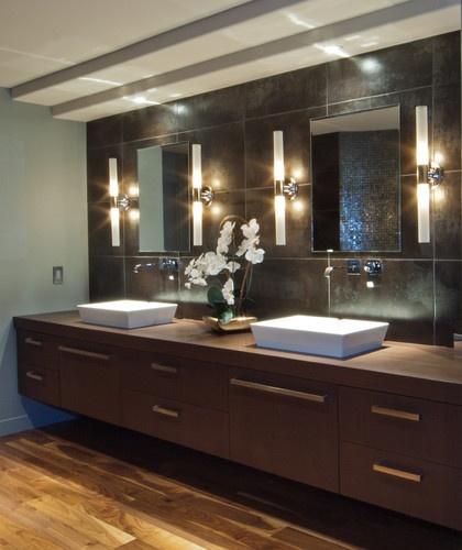 Fine Contemprorary Bathroom modern bathrooms designs with fine modern luxury bathroom designs pictures images Contemporary Bathrooms By Elmwood Fine Custom Cabinetry