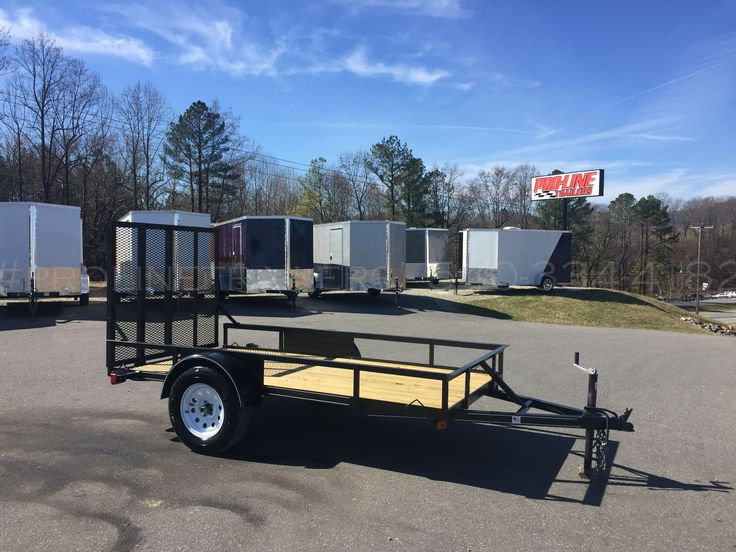 View all Utility Trailers currently for sale by Pro-Line® Trailers. Landscape Trailers, Utility trailers, Available at Pro-line Trailers.  Single Axle and Tandem Axle