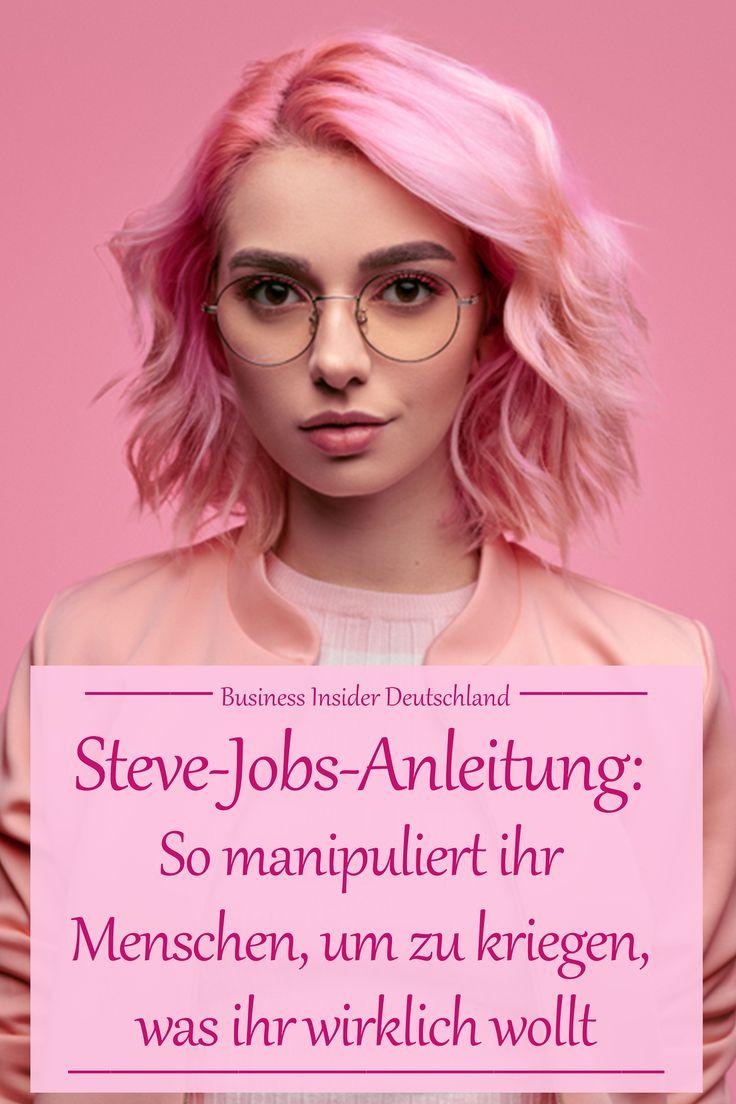 Eine Steve-Jobs-Anleitung: Wie ihr Menschen manipuliert, um zu kriegen, was ihr wirklich wollt