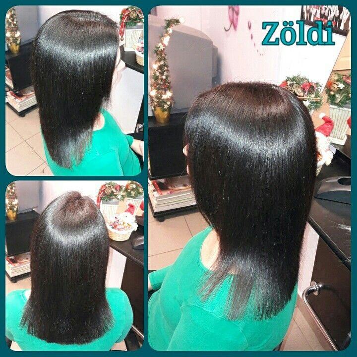 #zöldiszilvia #mywork #munkám #haircut #hajvágás #hairstyle