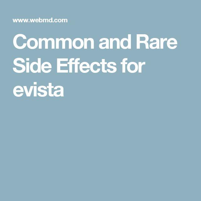 Side Effects Of Raloxifene Evista