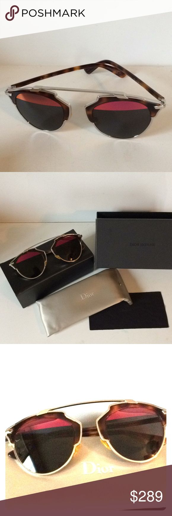 Authentic Dior so real Christian Dior so real sunglasses  Excellent Worn by celebrities everywhere  Ships same day Christian Dior Accessories Sunglasses