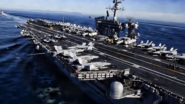 Aircraft Carrier Strike Group • Simulated Strait Transit