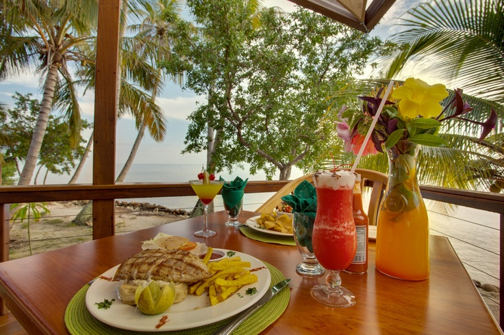 The food looks amazing at hatchet caye all inclusive for Amazing all inclusive resorts