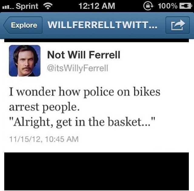 Not Will Ferrell Funny Tweet