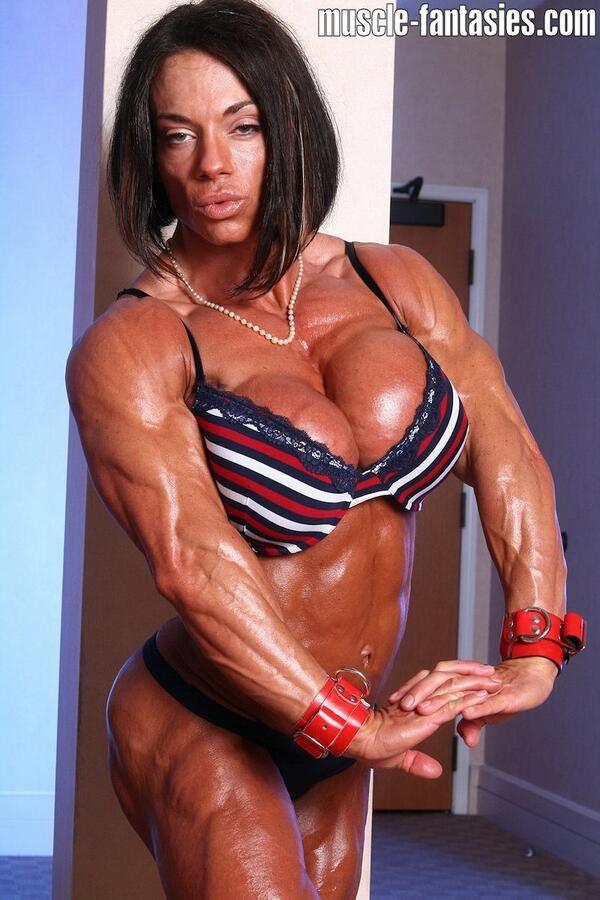 Extremste und sexy weibliche Bodybuilder Muskulösen