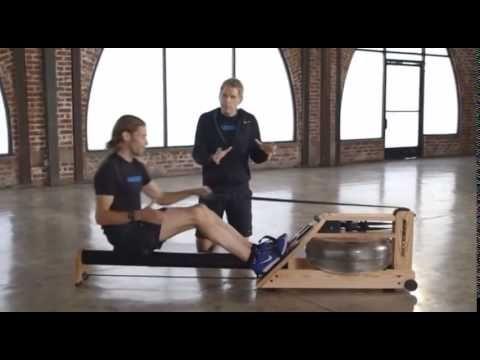 How to Row Correctly using a WaterRower - Orangetheory Fitness Parker
