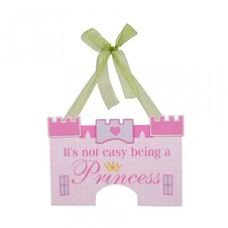 Hard Being A Princess Sign - Metro for sale by Little Shop of Treasures. Other Metro Kids available now at LSOT.
