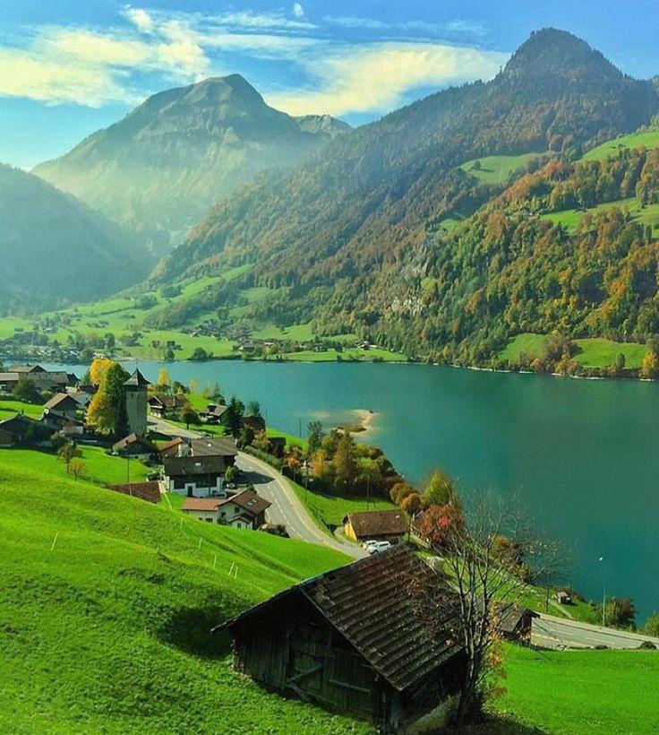 Lago Lungern, Suíça.
