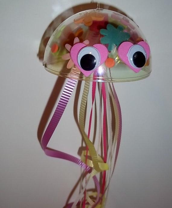 J is for JELLYFISH Craft Kit by kazsmom on Etsy, $3.50