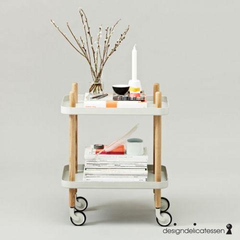Køb DESIGNDELICATESSEN - Normann Cph - Block Bakkebord lysgrå