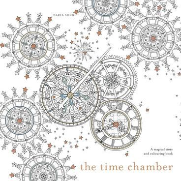 The Time Chamber A Magical Story And Colouring Book By Daria Song New
