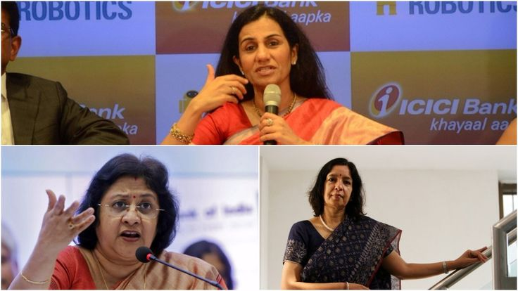 Internationally Powerful Women  Chanda Kochhar  Arundhati Bhattacharya Shikha Sharma